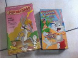 Fitas VHS Pernalonga