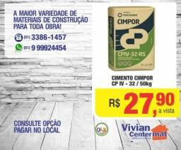 Cimento Cimpor CP-IV 32. Melhor Preço do RS