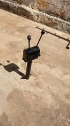Cambio de macha de carregadeira com trator BM100 X BM85 motocana ou santal