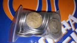 Vendo moedas antigas tenho mais de 1.000. tenho algumas notas tambem