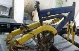 Quadro de bike antigo e pesado