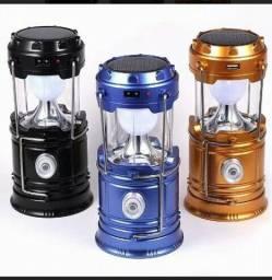 Lanterna lampião carregador 3 em um