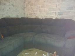Sofa para canto de parede com separadas depois pode ser unidas