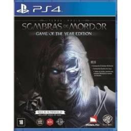 Game Terra Média: Sombras de Mordor - GOTY - PS4