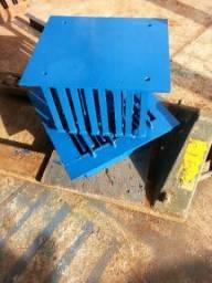 Formas para fabricação de blocos da cimento
