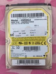 HD Samsung 500gb notebook