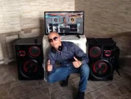 DJ Música, Som, Iluminação, Festas, Eventos
