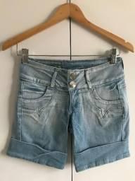 Bermuda jeans claro, P
