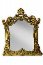 Espelho Veneziano Dourado Antique 100 x 115