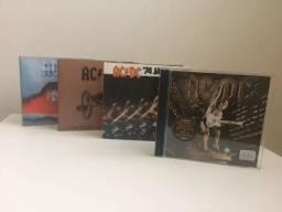 Ac/dc - Coleção de Cd's (5 albuns, inclui duplo Live - Special Collector's Edition)