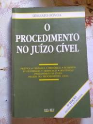 Livro. O Procedimento no Juízo Cível