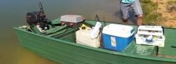 Oportunidade* Barco e motor 15HP - 1997