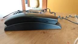 Telefone com fio TC20 Preto Gôndola Intelbras