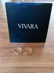 Par de Alianças Vivara Just For You 18K