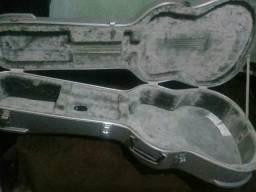 Case/estojo para violão cor Prata lindo ESTA EM HORTOLÂNDIA SP