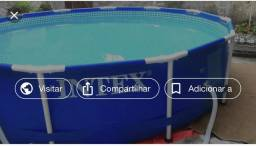 Piscina intex nova na caixa