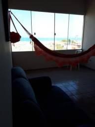 Apartamento para temporada com vista para o mar