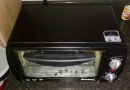 Forno elétrico 10L e panela eletrónica nova na caixa