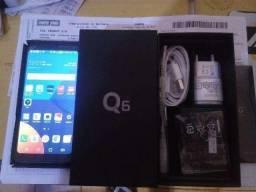 LG Q6 Dourado 32gb com GARAnTIA (Aceito cartao)