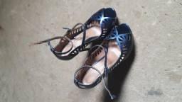 Sandalia salto vizzano