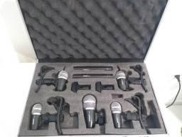 Kit microfone de bateria
