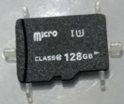 Cartão de memória MicroSD 128 GB