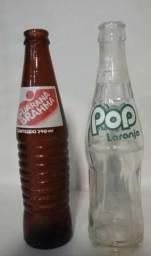Garrafas antigas ks (até 310ml) Gini, Pop, Crush, Pepsi, Coca, Brahma, Taí, Antártica