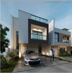 Belíssima casa de 144m² à venda em condomínio fechado - Santa Cândida - Curitiba