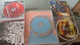 CD e Dvd de Rock religuias Red Hot chili Peppers e Charlie Brown Jr Originais