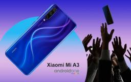 Xiaomi Mi A3! Câm Tripla 48MP+Selfie 32MP! 4Gb+64Gb Digital na tela! R$1099 av ou 12xR$101