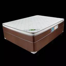 Colchão + base box casal caribe I672