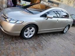 New Civic 08 flex muito novo, 2020 pago. Banco em couros, 4 pneus novos Goodyear - 2008