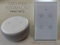 Interruptor Wifi 4 Botões. Funciona com Alexa, Google Home. Pronta Entrega