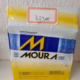 Bateria Moura 40ah a base de troca com garantia de 18 meses instalada no seu carro