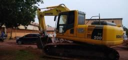 Escavadeira hidráulica Komatsu pc 200