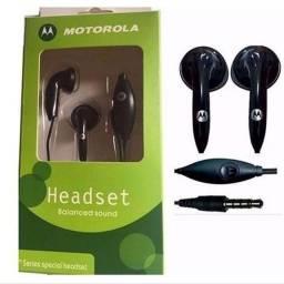 Fone De Ouvido Headset Motorola