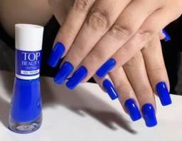 Esmalte Azul Profundo Top Beauty