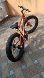 Fat bike Aro 26 alumínio kit Shimano 21v