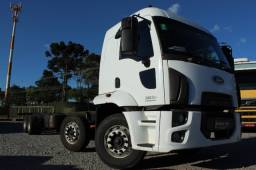 Ford cargo 3031 8x2 ano 18/19
