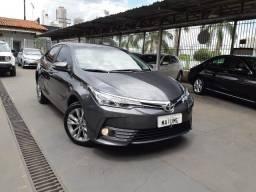 Toyota corolla XEI 2.0 18/19 flex aut. cinza