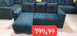Sofás NOVOS, com chaises