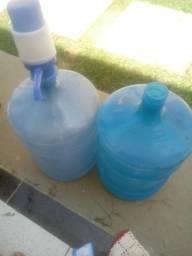 Galão de agua mais puxador