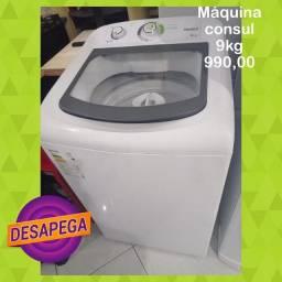 Título do anúncio: Máquina de lavar Consul 9kg com garantia. Chama no ZAP