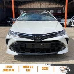 Título do anúncio: Toyota Corolla GRs - 2022 - 0Km - Pronta Entrega - Branco Pérola - Carregador por Indução