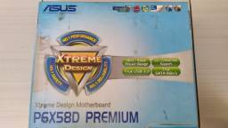 Placa mãe Asus P6x58d Premium Lga 1366 Ddr3 Usb 3.0