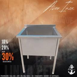 Título do anúncio: Tanque em inox 100%