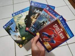 Combo de jogos PS4