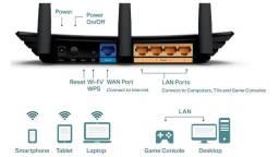 Roteador TP-Link TL-WR940N 450Mbps de 3