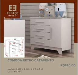 Título do anúncio: Cômoda Retro Catavento #Entrega e Montagem Grátis