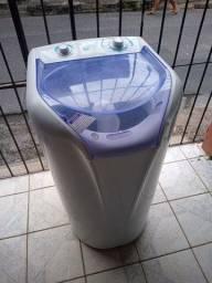 Máquina de lavar Electrolux turbo compacta 7kg ZAP 988-540-491 aceito cartão